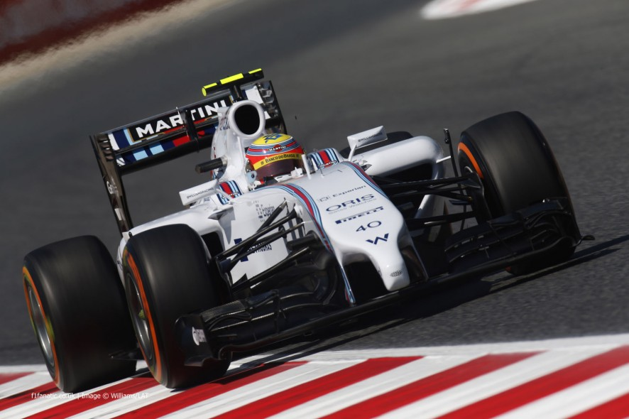 Felipe Nasr, Williams, Circuit de Catalunya, 2014