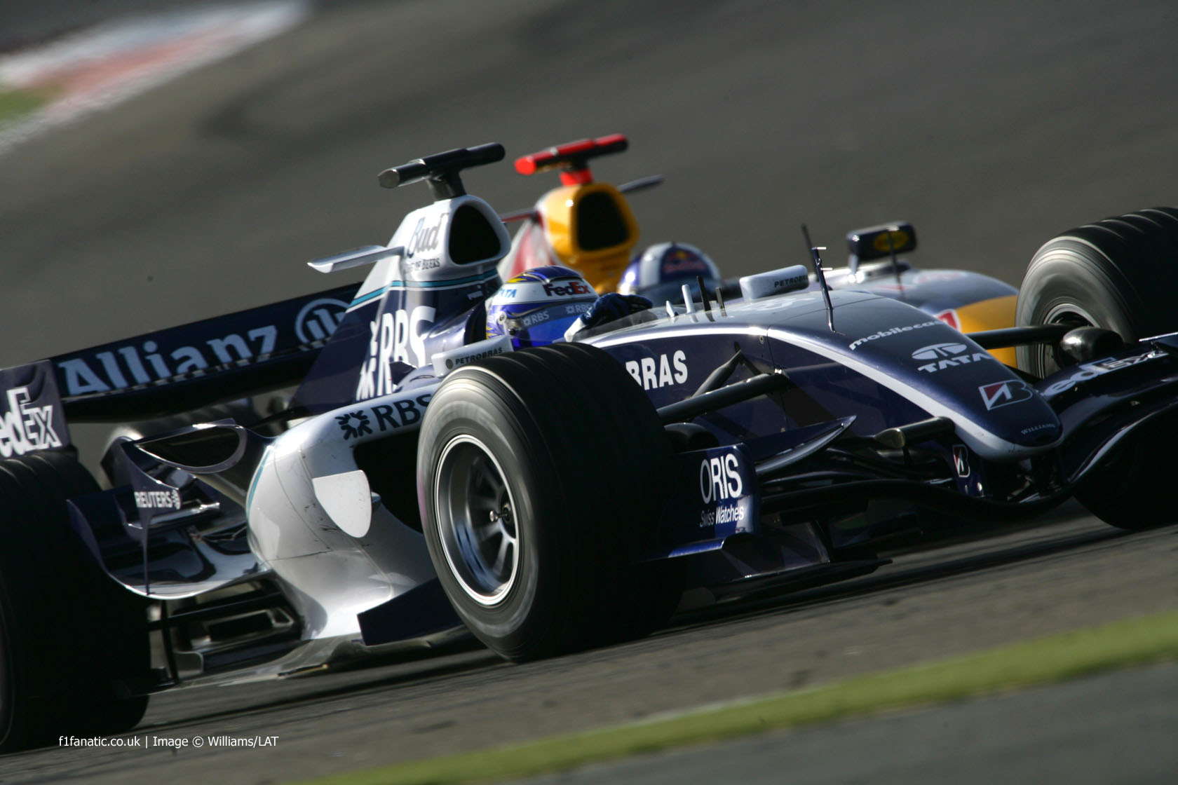 Nico Rosberg, Williams, Bahrain, 2006