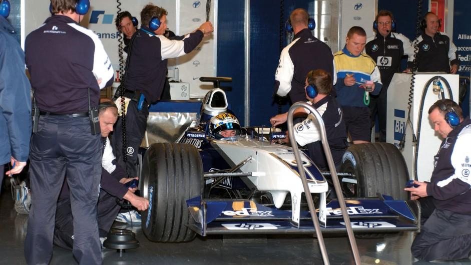 Nico Rosberg, Williams, Circuit de Catalunya, 2002