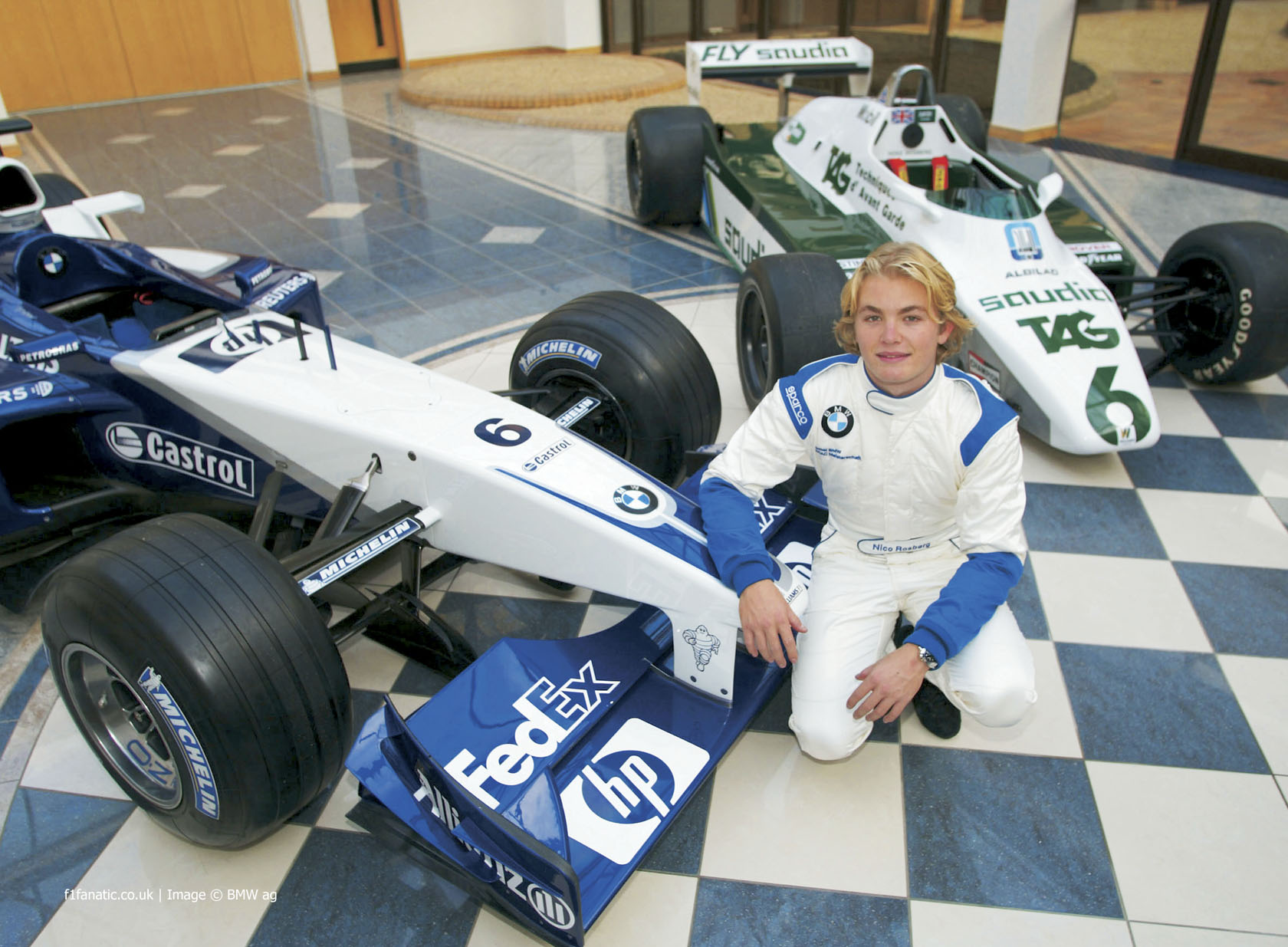 Nico Rosberg, Williams, Circuit de Catalunya, 2002