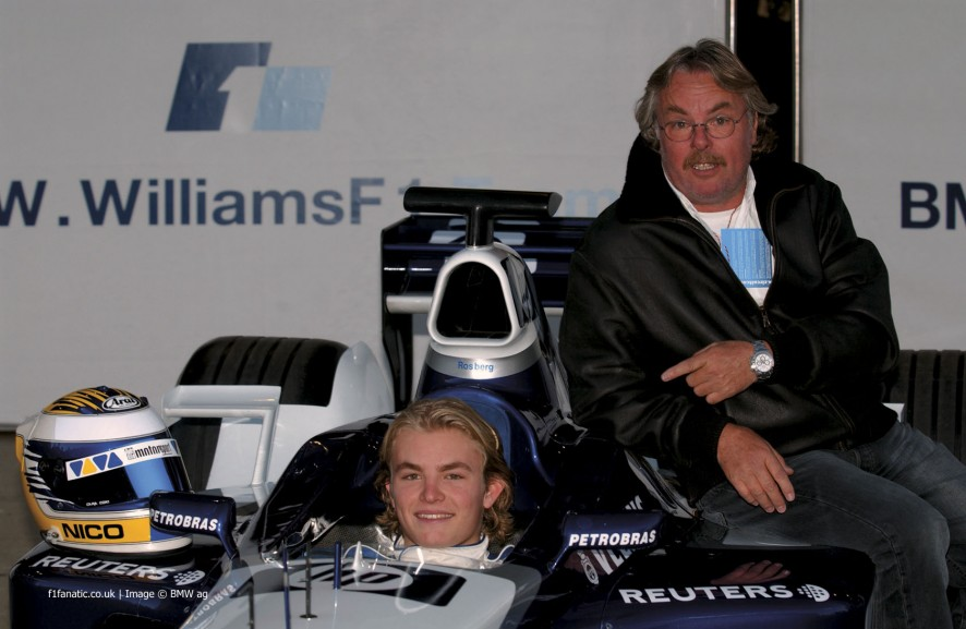 Nico Rosberg, Keke Rosberg, Williams, Circuit de Catalunya, 2002