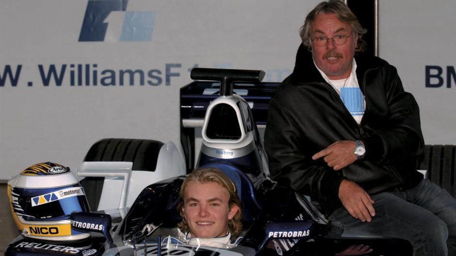 Nico Rosberg, Keke Rosberg, Williams, Circuit de Catalunya, 2002