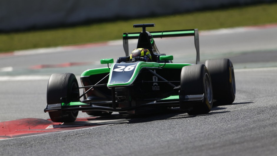 Nick Yelloly, Status, GP3, Circuit de Catalunya, 2014