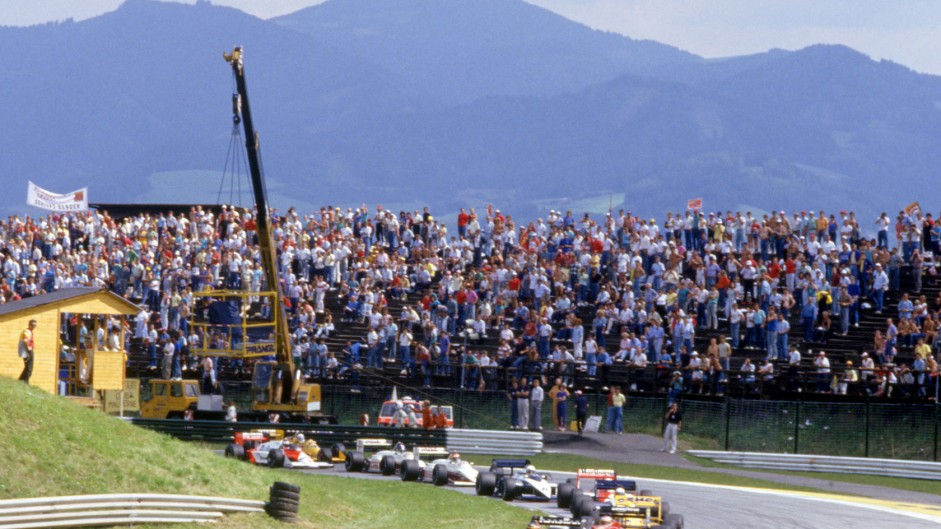 Changing tracks: Red Bull Ring