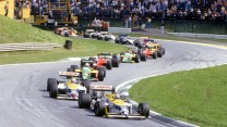 Start, Osterreichring, 1987 Austrian Grand Prix