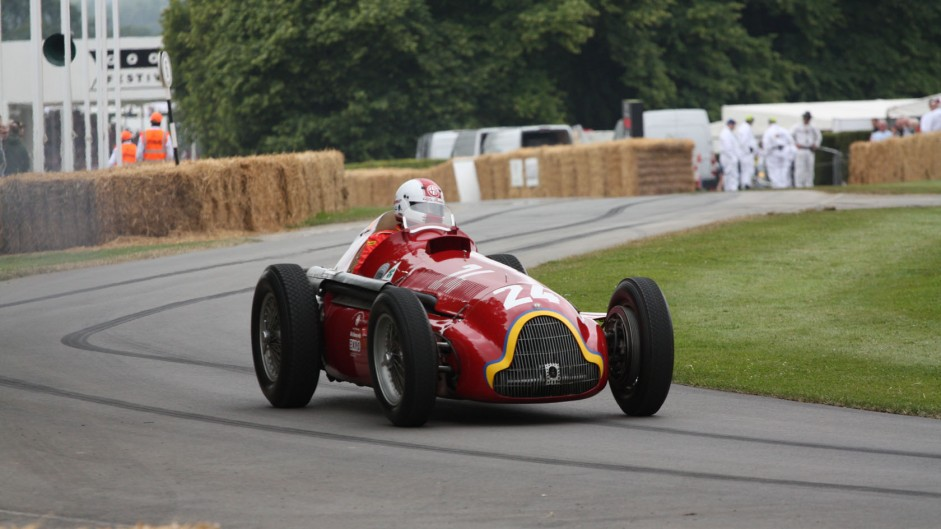 Alfa Romeo 159 Alfetta, Goodwood Festival of Speed, 2014