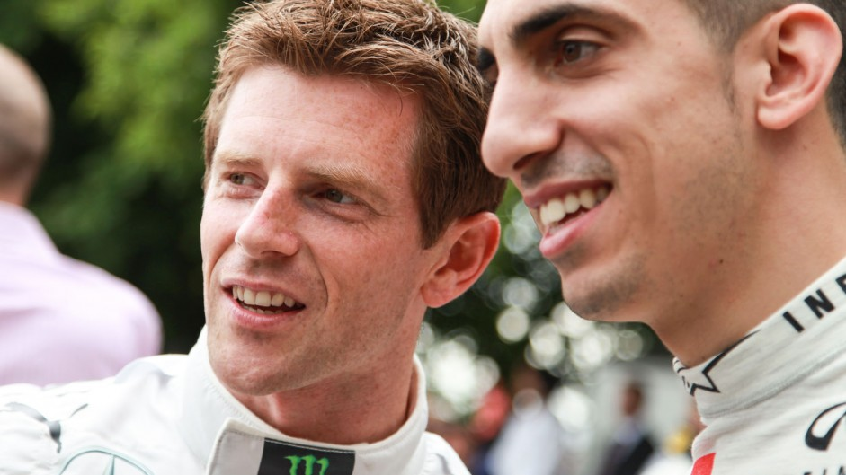 Anthony Davidson, Sebastien Buemi, Goodwood Festival of Speed, 2014
