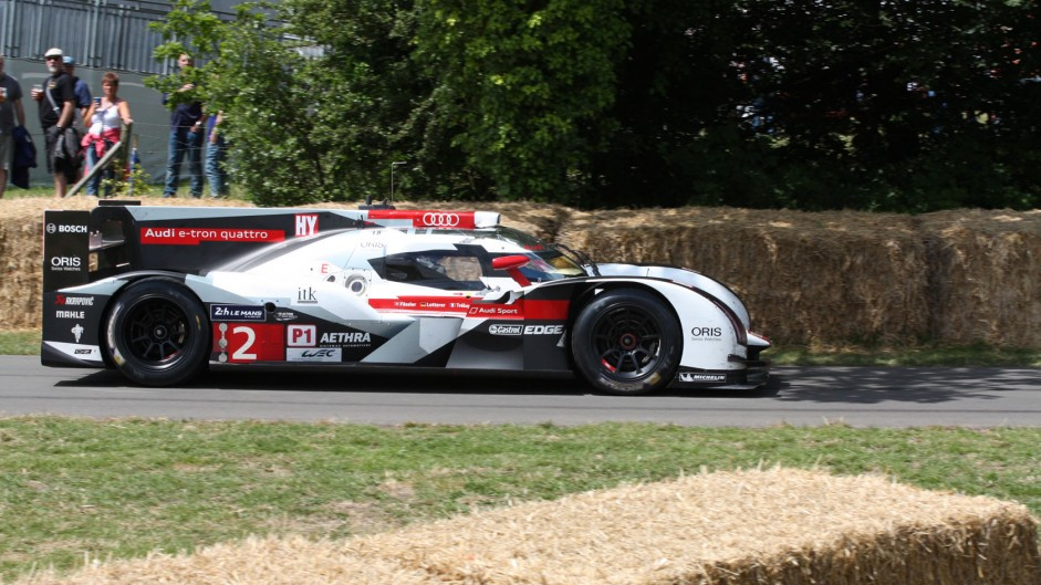 Audi R18 E-tron Quattro, Goodwood Festival of Speed, 2014