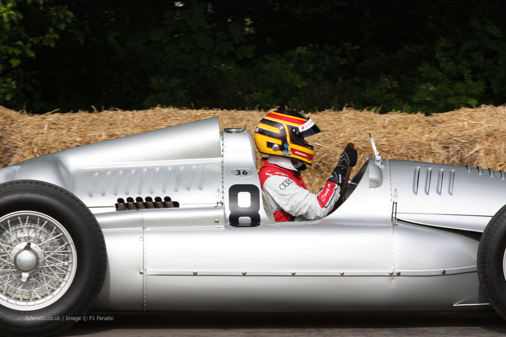 Auto Union Type C (1), Goodwood Festival of Speed, 2014