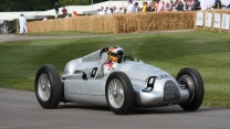 Auto Union Type C (2), Goodwood Festival of Speed, 2014