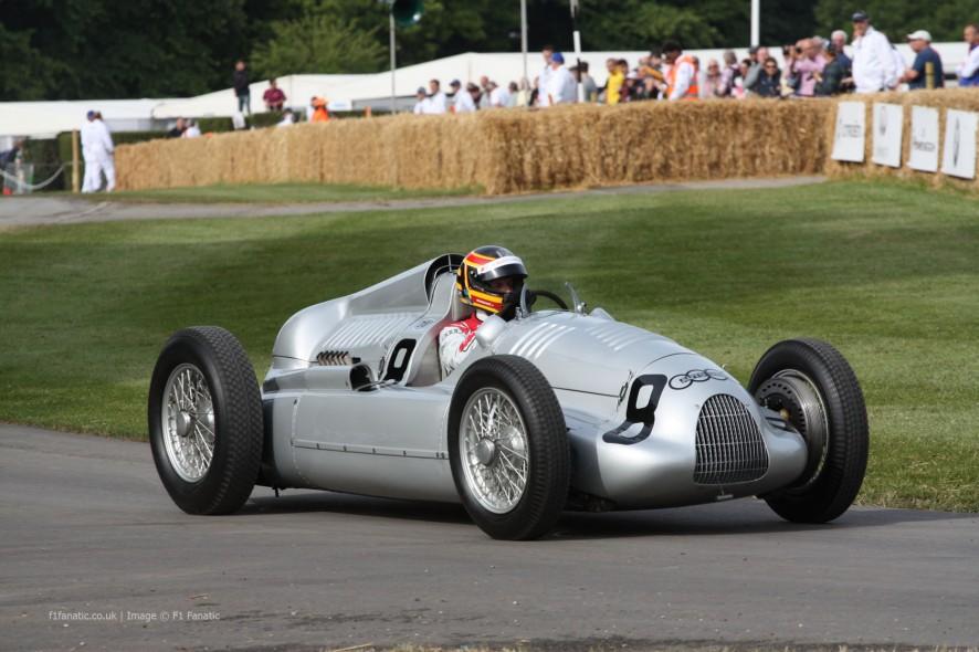 Auto Union Type C (2), Goodwood Festival of Speed, 2014