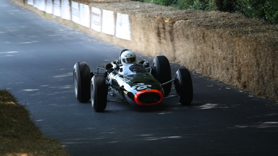 BRM P261 (1), Goodwood Festival of Speed, 2014