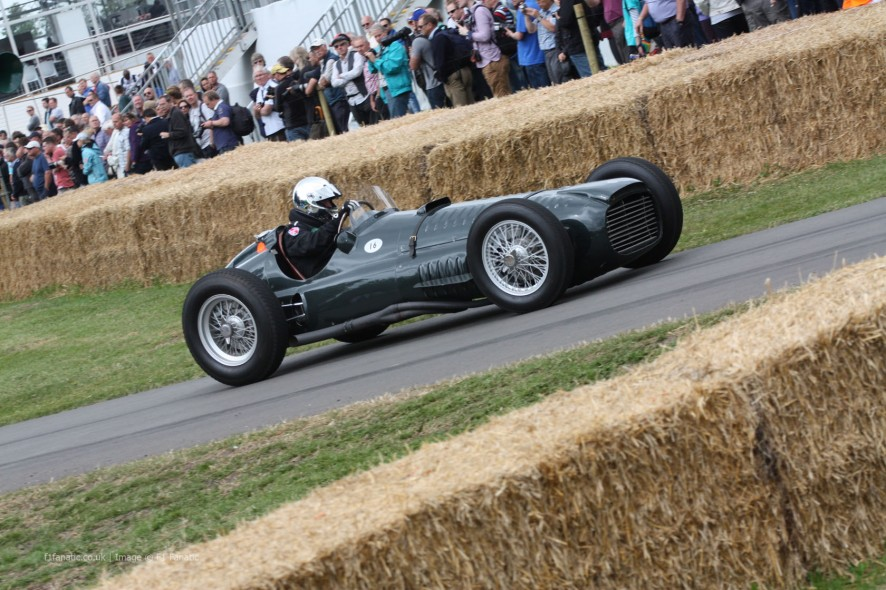 BRM V16 P15, Goodwood Festival of Speed, 2014
