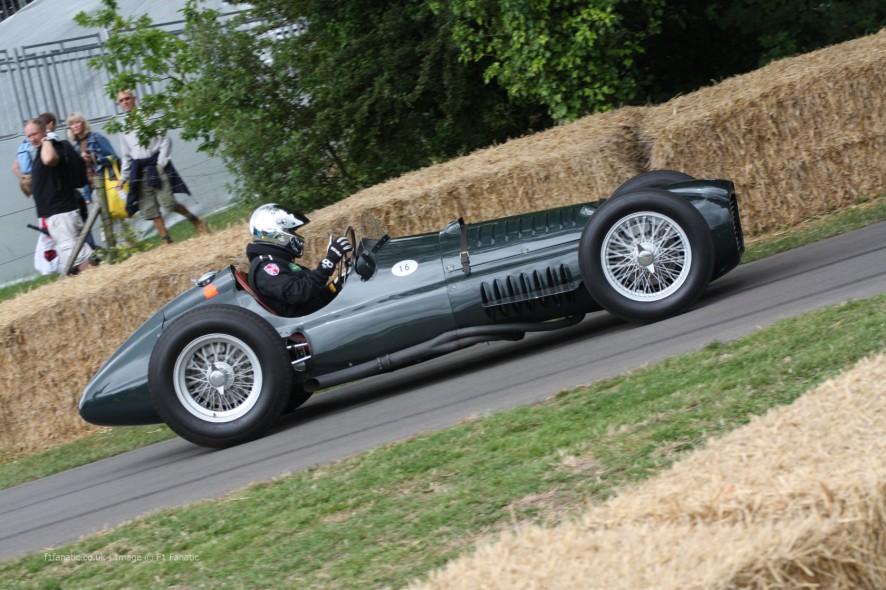 BRM V16 P15, Goodwood Festival of Speed, 2014
