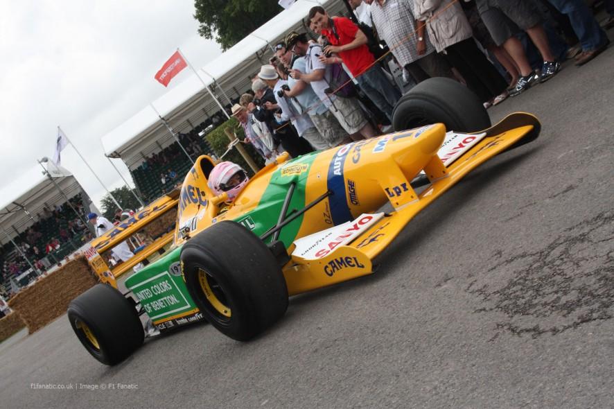 Benetton B192 (1), Goodwood Festival of Speed, 2014
