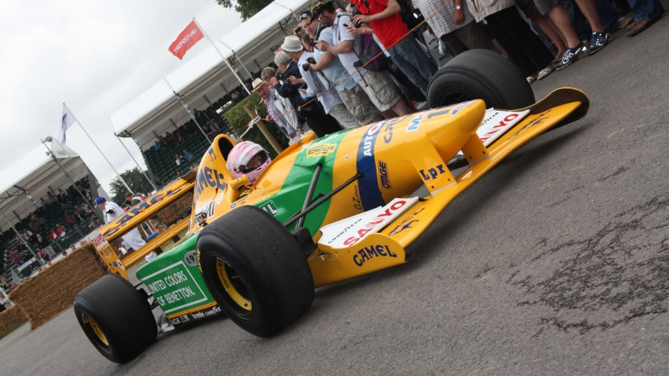 Benetton B192 (1), Goodwood Festival of Speed, 2014