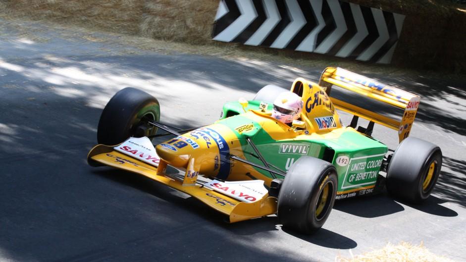 Benetton B192, Goodwood Festival of Speed, 2014