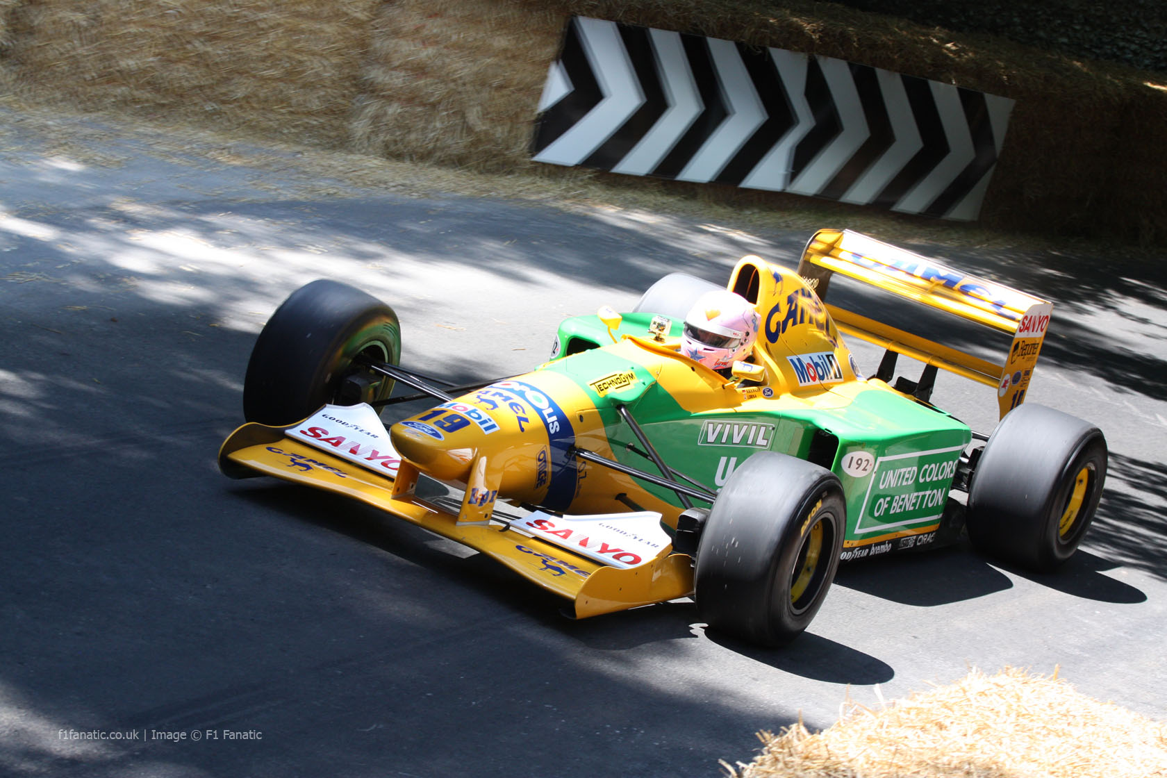 Benetton B192, Goodwood Festival of Speed, 2014