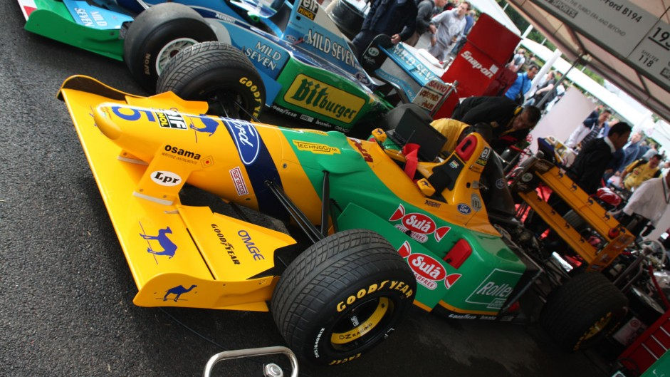 Benetton B193, Goodwood Festival of Speed, 2014