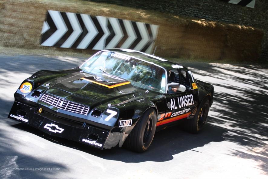 Chevrolet Camaro IROC, Goodwood Festival of Speed, 2014