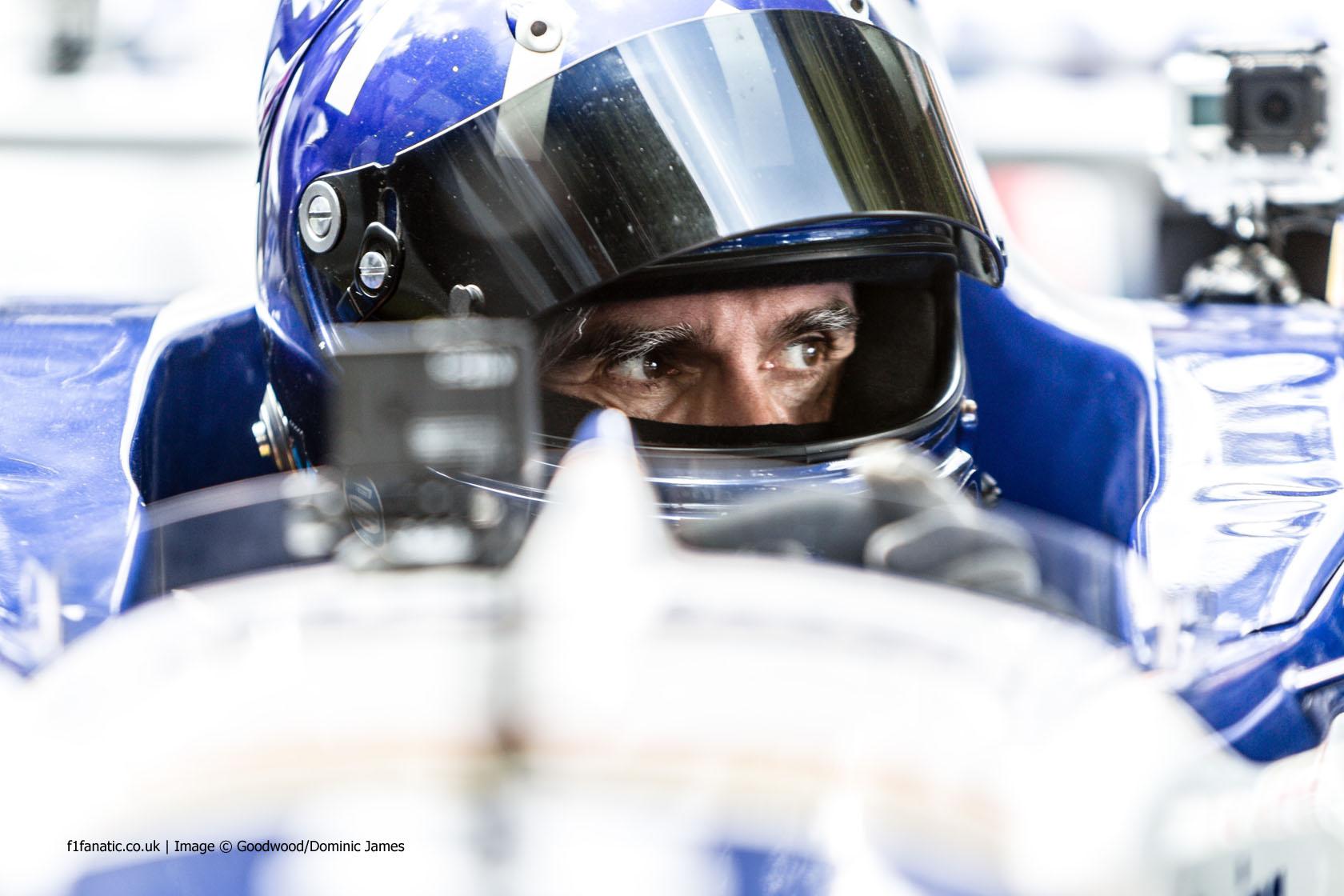 Damon Hill, Goodwood Festival of Speed, 2014