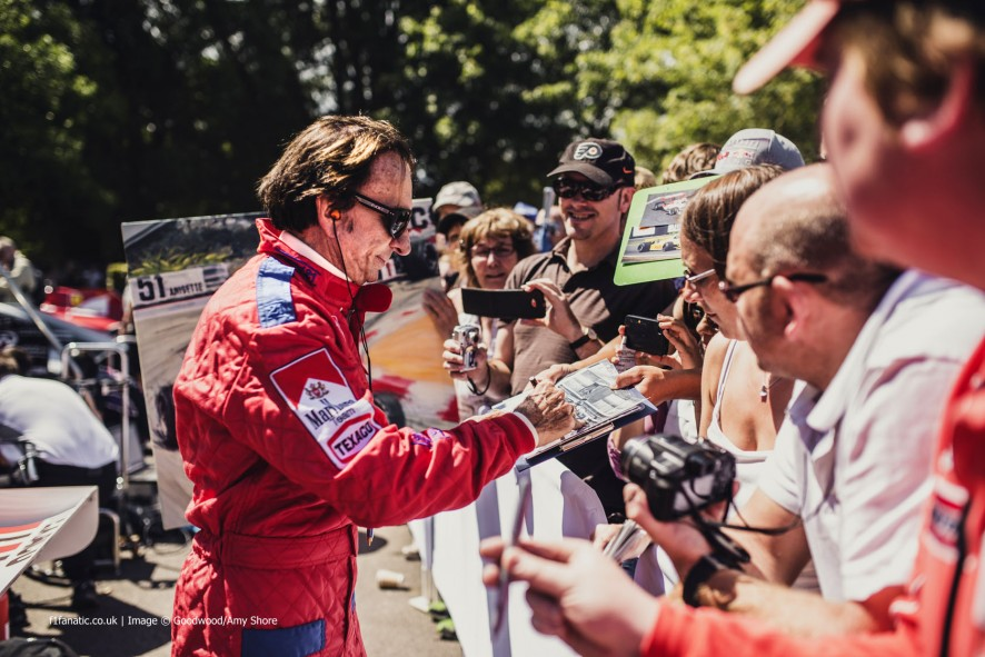 Emerson Fittipaldi (2), Goodwood Festival of Speed, 2014