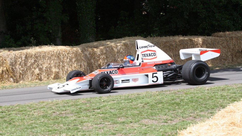 Emerson Fittipaldi, McLaren M23 (1), Goodwood Festival of Speed, 2014