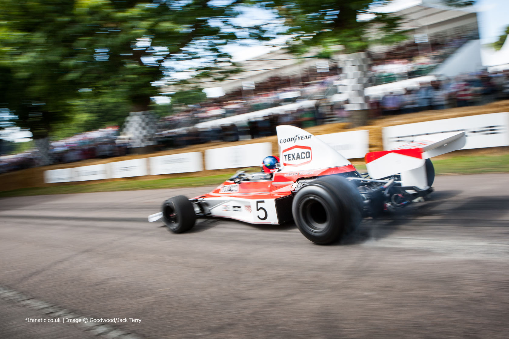 Emerson Fittipaldi, Goodwood Festival of Speed, 2014