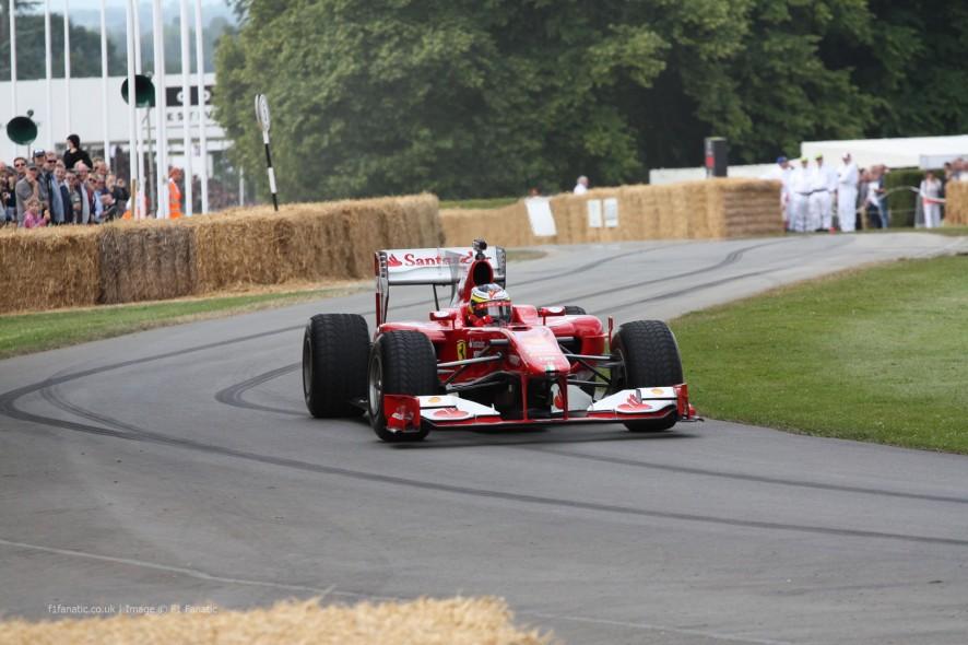Ferrari F60 (2), Goodwood Festival of Speed, 2014