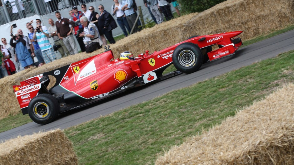 Ferrari F60 (3), Goodwood Festival of Speed, 2014