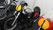 Vincent Grey Flash, Norton 350 Featherbed, MV Agusta 500. Goodwood Festival of Speed, 2014