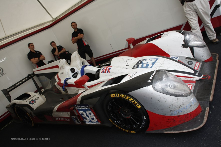 Jota Zytek Z11SN - Nissan, Goodwood Festival of Speed, 2014