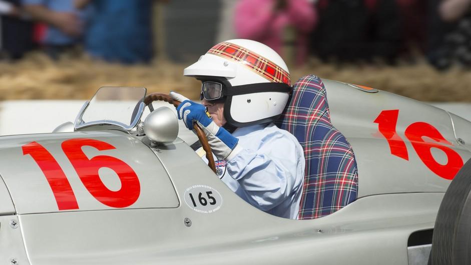 Jackie Stewart, Goodwood Festival of Speed, 2014