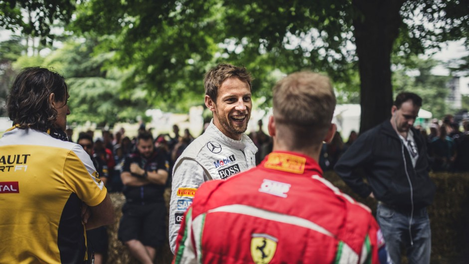 Jenson Button (3), Goodwood Festival of Speed, 2014
