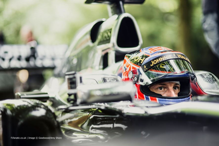 Jenson Button (4), Goodwood Festival of Speed, 2014