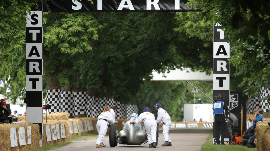 Jochen Mass, Goodwood Festival of Speed, 2014