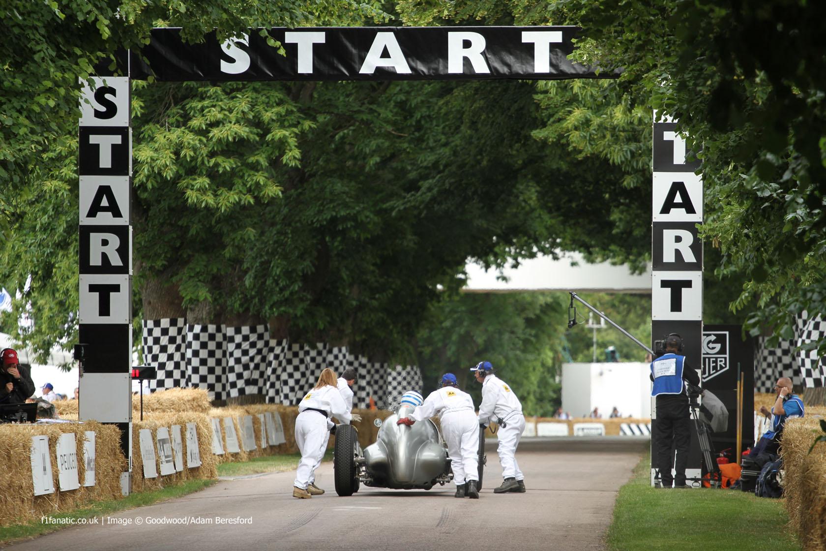 Jochen Mass, Goodwood Festival of Speed, 2014