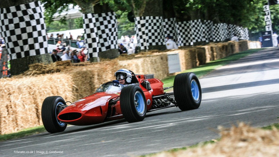 John Surtees (1), Goodwood Festival of Speed, 2014