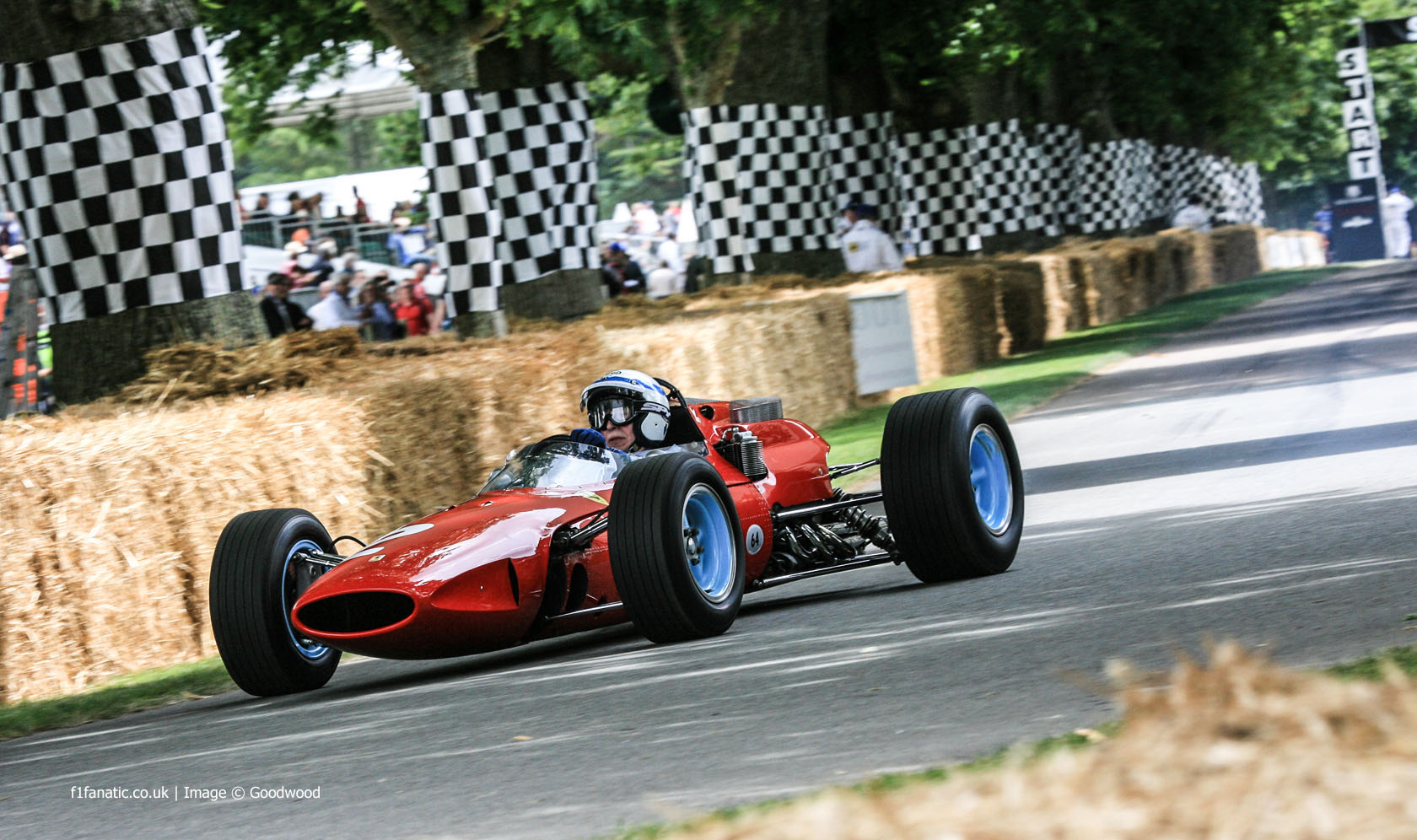 John Surtees (1), Goodwood Festival of Speed, 2014