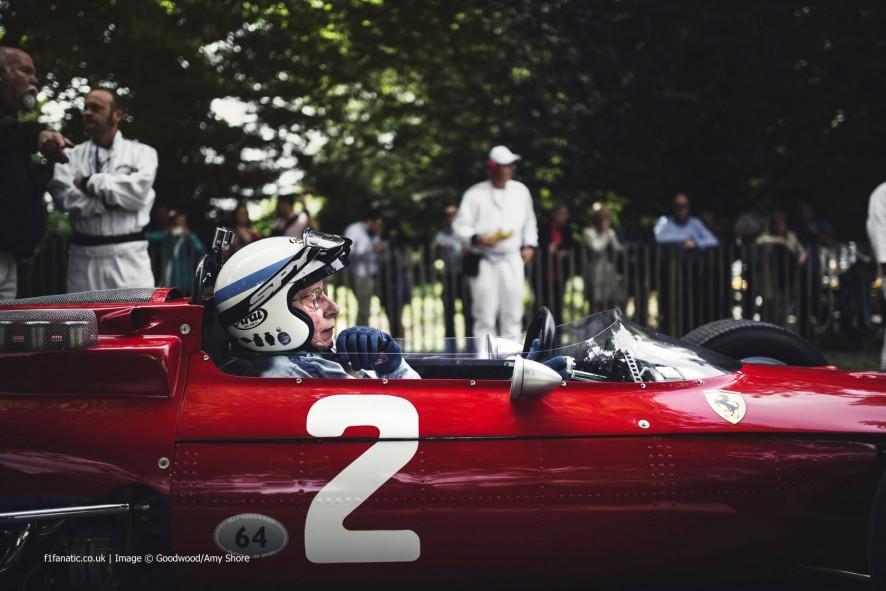 John Surtees (2), Goodwood Festival of Speed, 2014