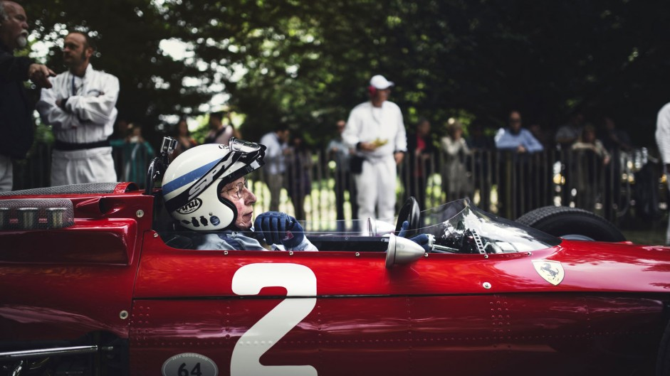 John Surtees (2), Goodwood Festival of Speed, 2014