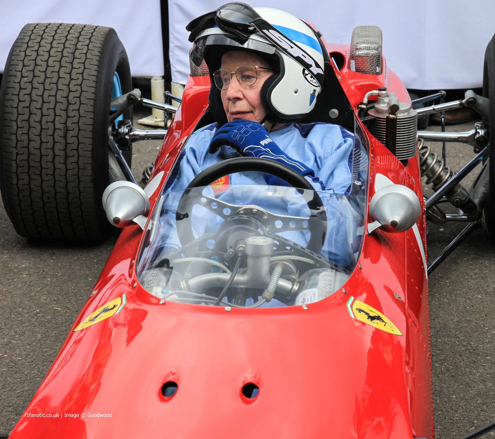 John Surtees (3), Goodwood Festival of Speed, 2014