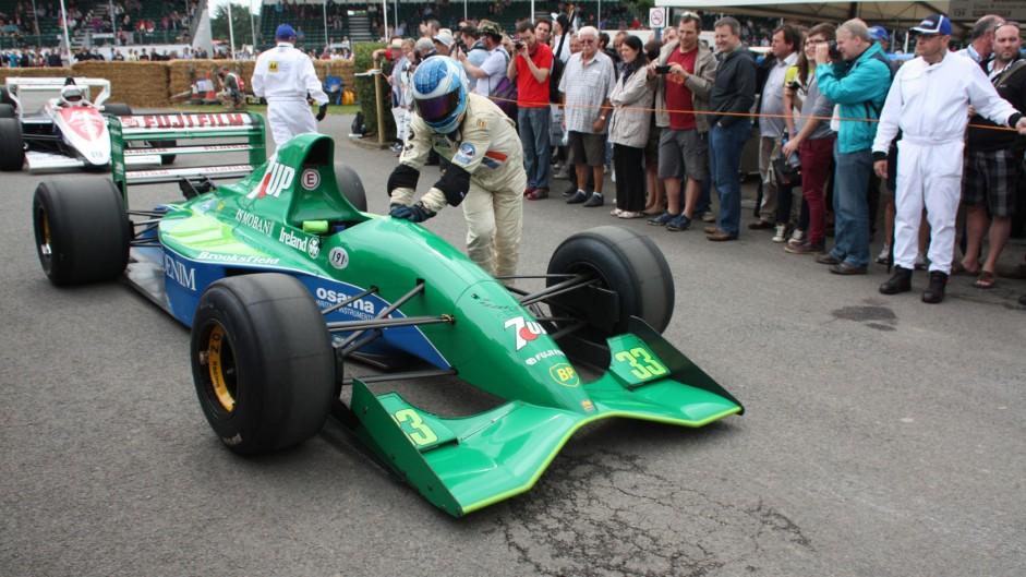Jordan 191 (1), Goodwood Festival of Speed, 2014