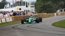 Jordan 191 (3), Goodwood Festival of Speed, 2014