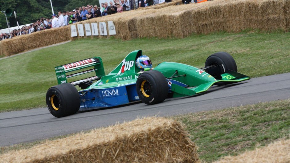 Jordan 191 (4), Goodwood Festival of Speed, 2014