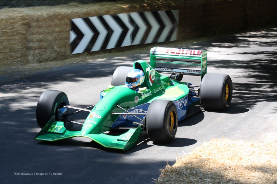 Jordan 191 (5), Goodwood Festival of Speed, 2014