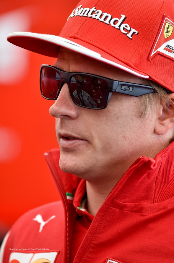 Kimi Raikkonen (2). Goodwood Festival of Speed, 2014