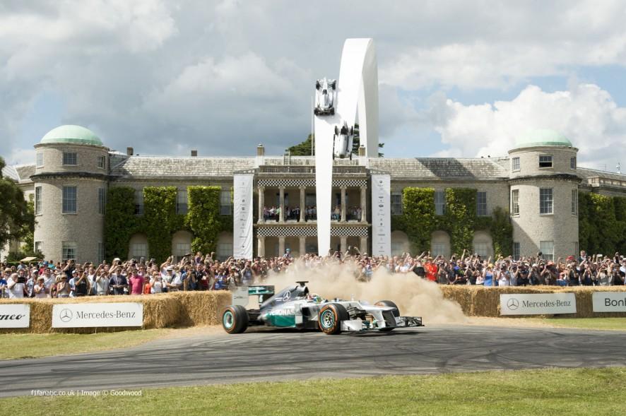 Lewis Hamilton (3), Goodwood Festival of Speed, 2014