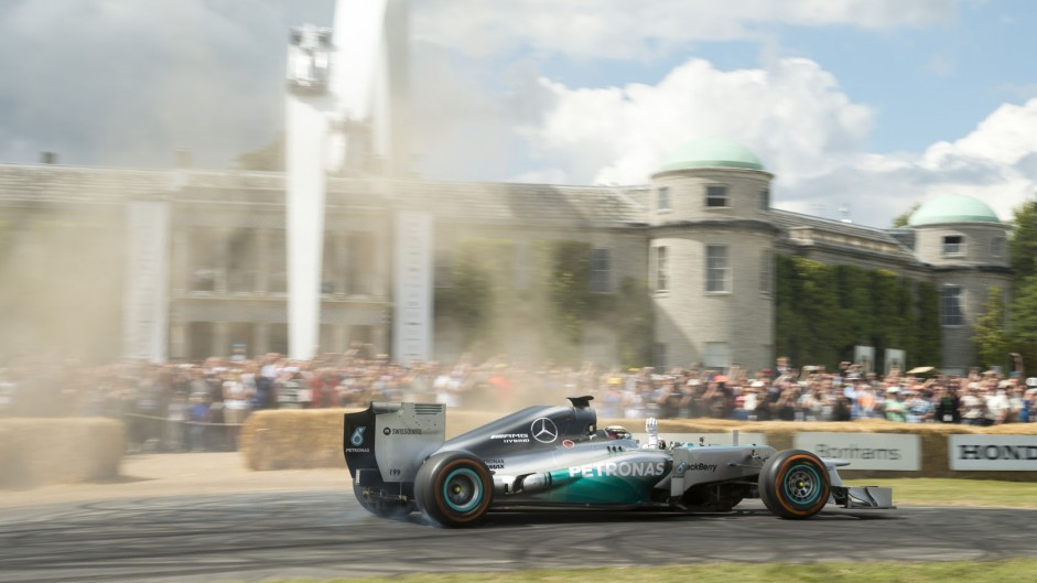 Lewis Hamilton (4), Goodwood Festival of Speed, 2014