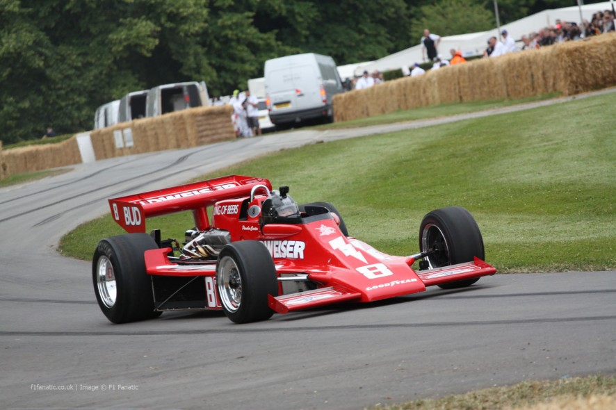 Lightning Cosworth (2), Goodwood Festival of Speed, 2014
